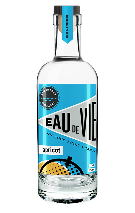 Apricot Eau de Vie - This is the most aromatic of the brandies – almost like perfume – with an intense fruit flavor and a mellow finish. We make approximately 50 bottles a year.
