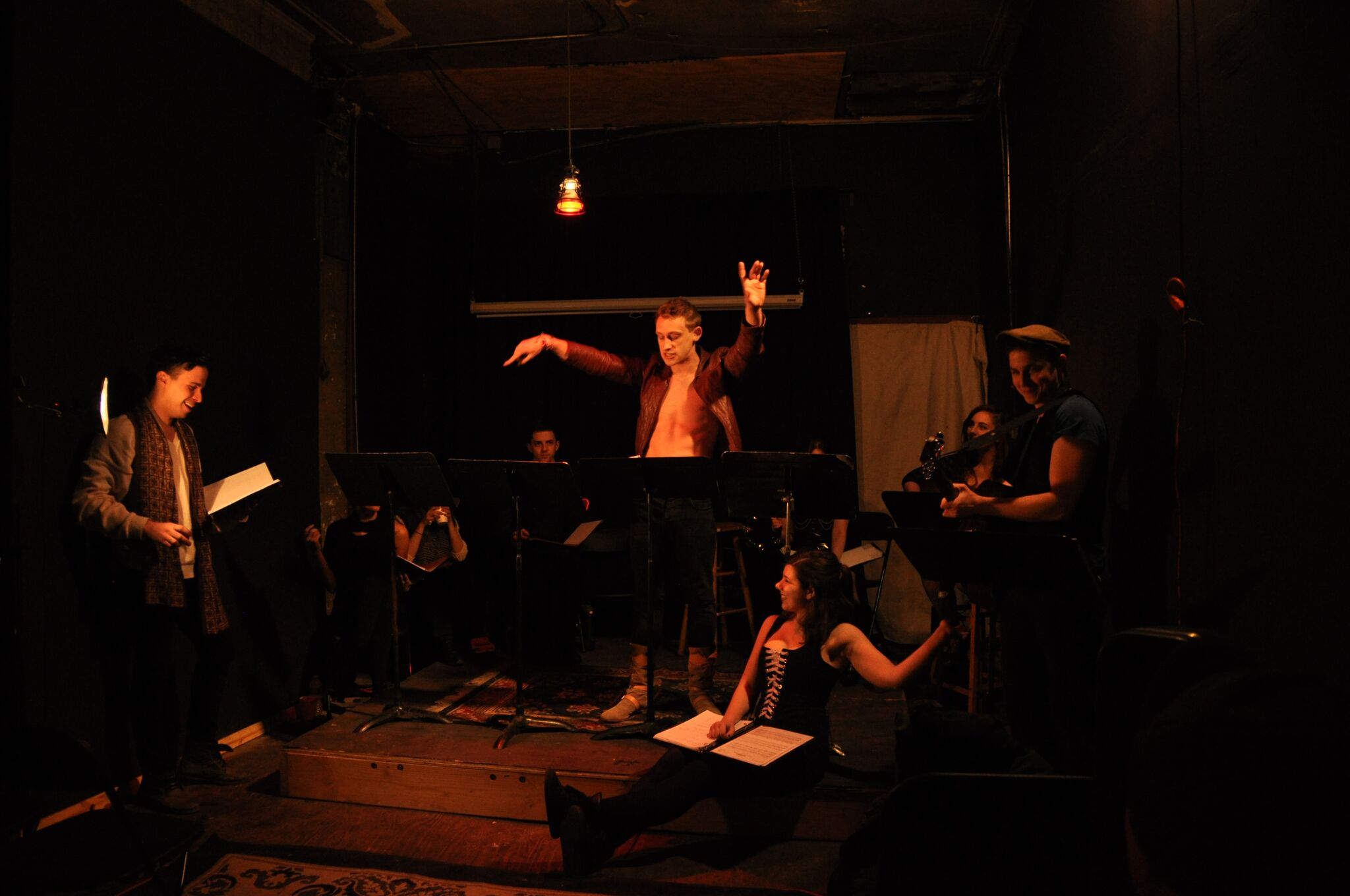 A reading of Bacchae at Catland Books.  -