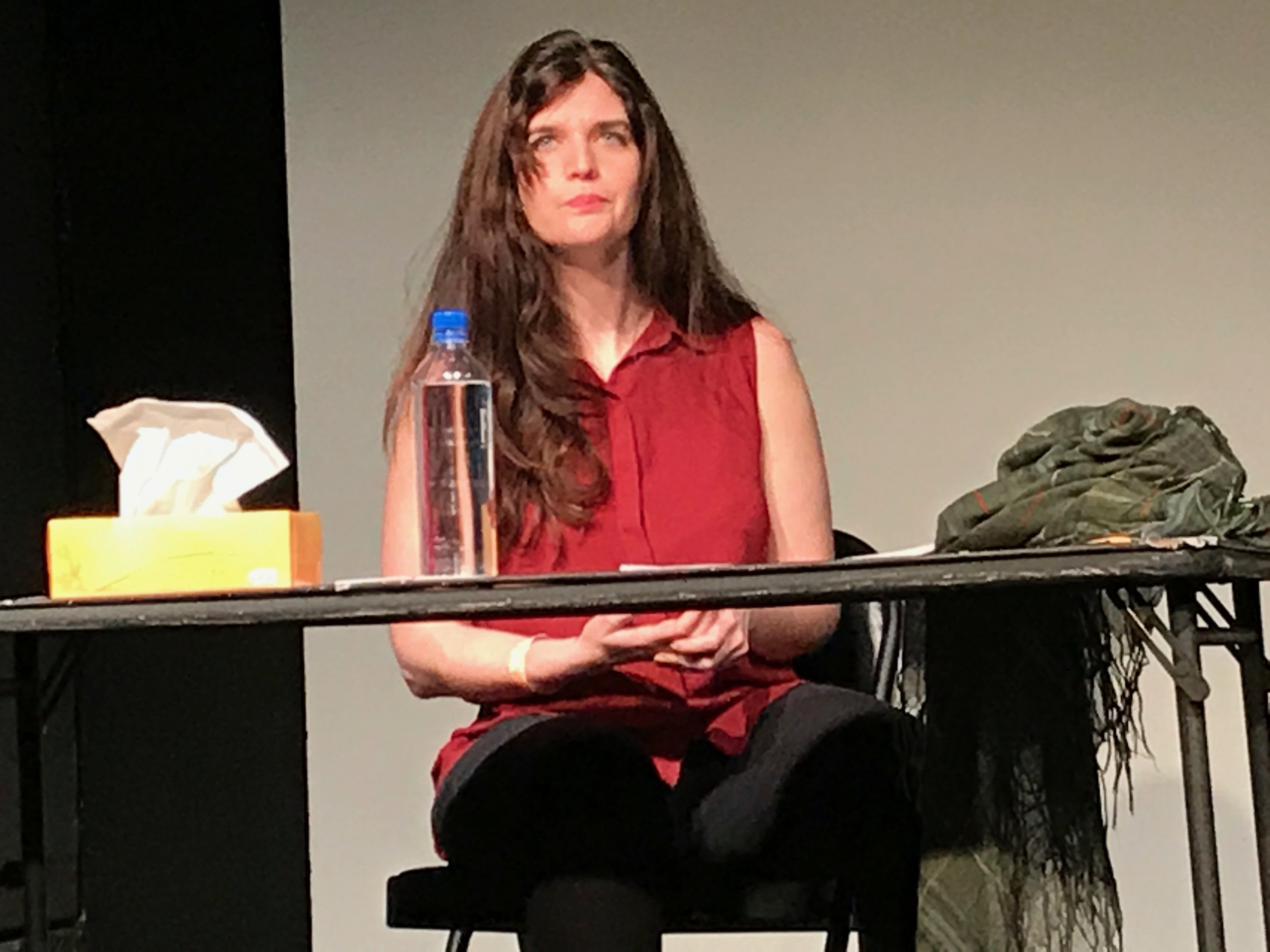 Lea Mckenna-Garcia in  Possessed is a Verb
