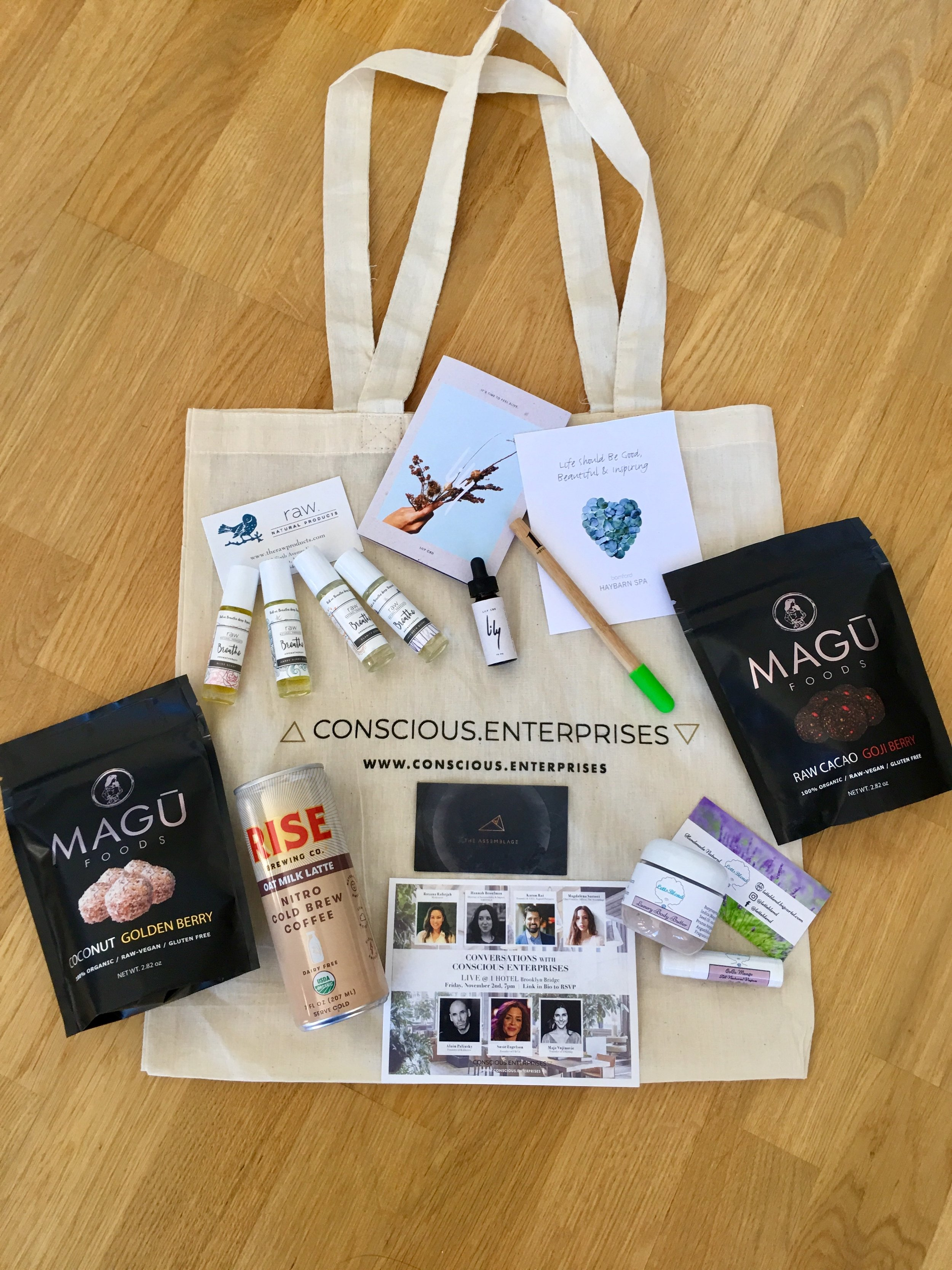 Our AMAZING gift bag partners!!