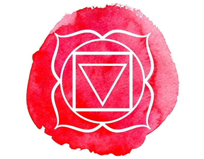 Muladhara Meditation for Stability - Muladhara is the Root Chakra, a wheel of energetic synapses located in your pelvic floor. Yoga wisdom tells us that Muladhara governs our basic survival instincts and primal sense of self-identity. It is responsible for attachment, fear and insecurities associated with being alive. While Muladhara is the seat of physical excretion and energetic elimination, it is also the body's gateway to Mother Earth, having the capacity to open up, give, receive, and transform.To feel grounded, supported and balanced in Muladhara, practice becoming aware of the muscles in your pelvic floor and soles of your feet. Wait for an opportunity/ invitation that initially provokes a sense of fear inside of you, then observe sensations in your pelvic floor and soles of your feet. Are you creating a sense of holding or gripping? Are you using your breath to feel supported in the midst of your fear? Can you stay with the sensations until they release or dissolve into something new?