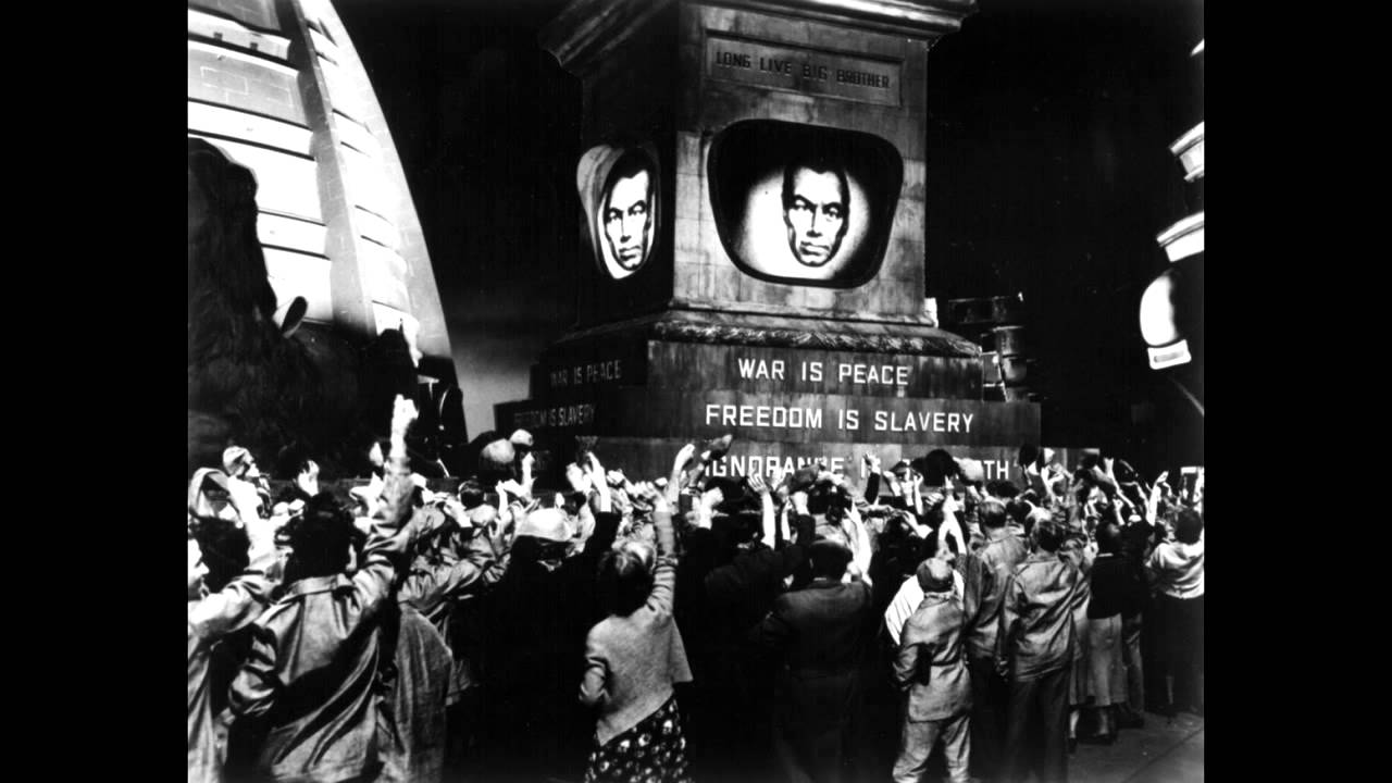 inspired from a dystopia literature of society that is undesirable or frightening. 1984 -George orwell