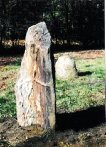 Sovereignty Stone --Anadaire Buddhist Center, Saxtons River, Vermont