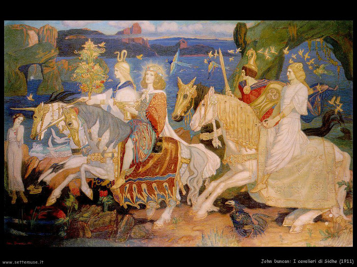 John Duncan 019  The Riders of the Sidhe