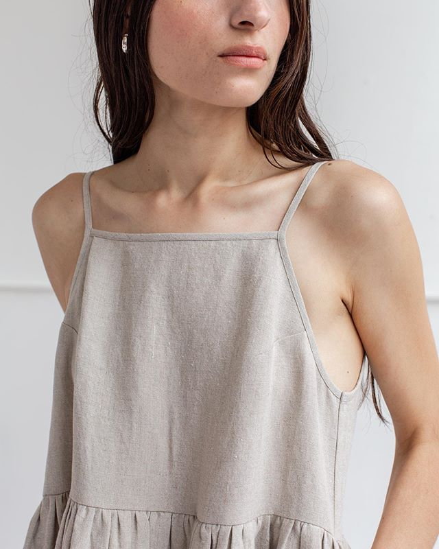 sneak peek from our shoot today !! pictured here is our washed linen in the oat colorway, and I think I love it more than oat milk.  LAUNCHING 5.24.19