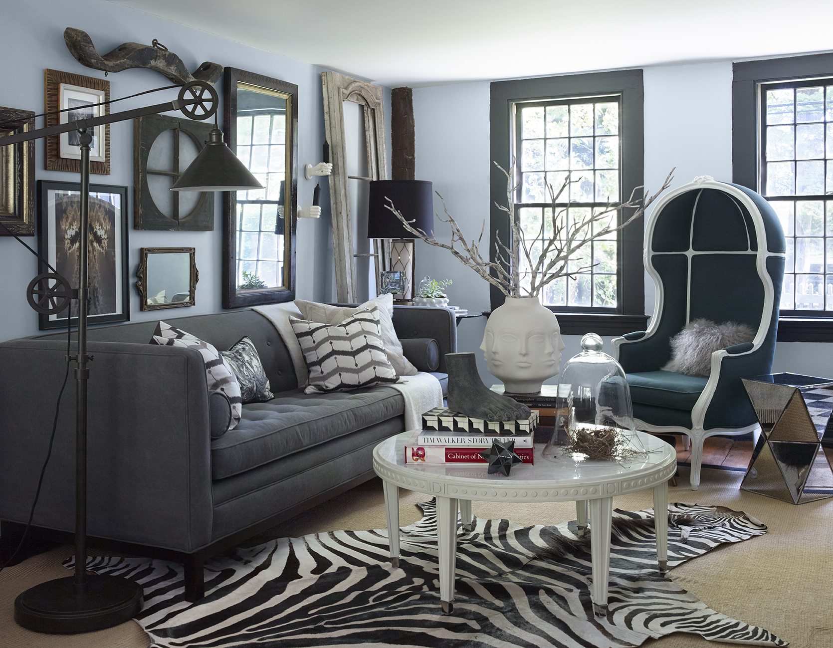 Before pic of the living room                  Photo by  Ellen McDermott