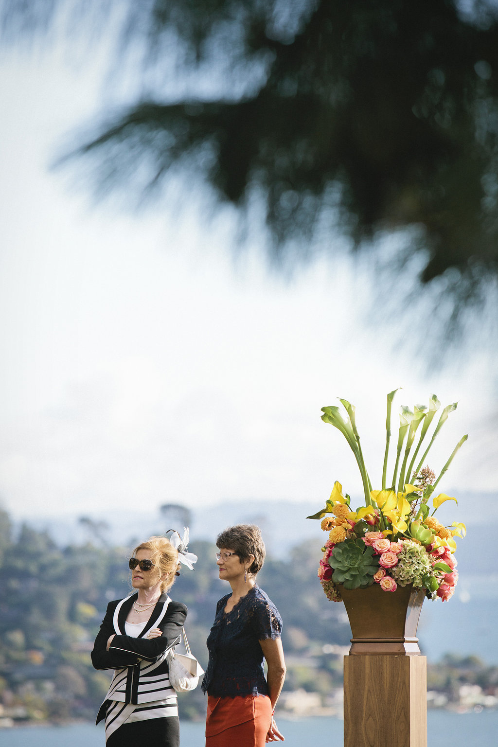 Wedding of Katie Jensen and Matthew Clarke at Community Congregation Church and Guayamas in Tiburon, Calif., Saturday, Oct. 17, 2015. Photos by Alison Yin/Alison Yin Photography