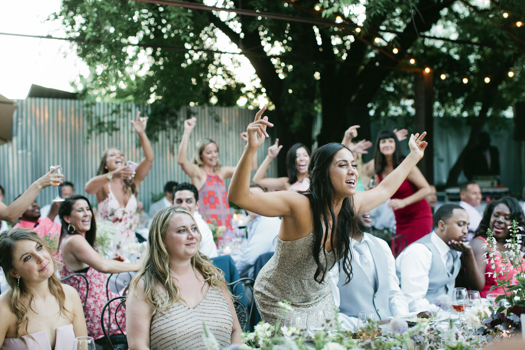 Sami and Rodger threw an amazing wedding at Barndiva in Healdsburg that had their guests dancing and singing in their seats throughout dinner.