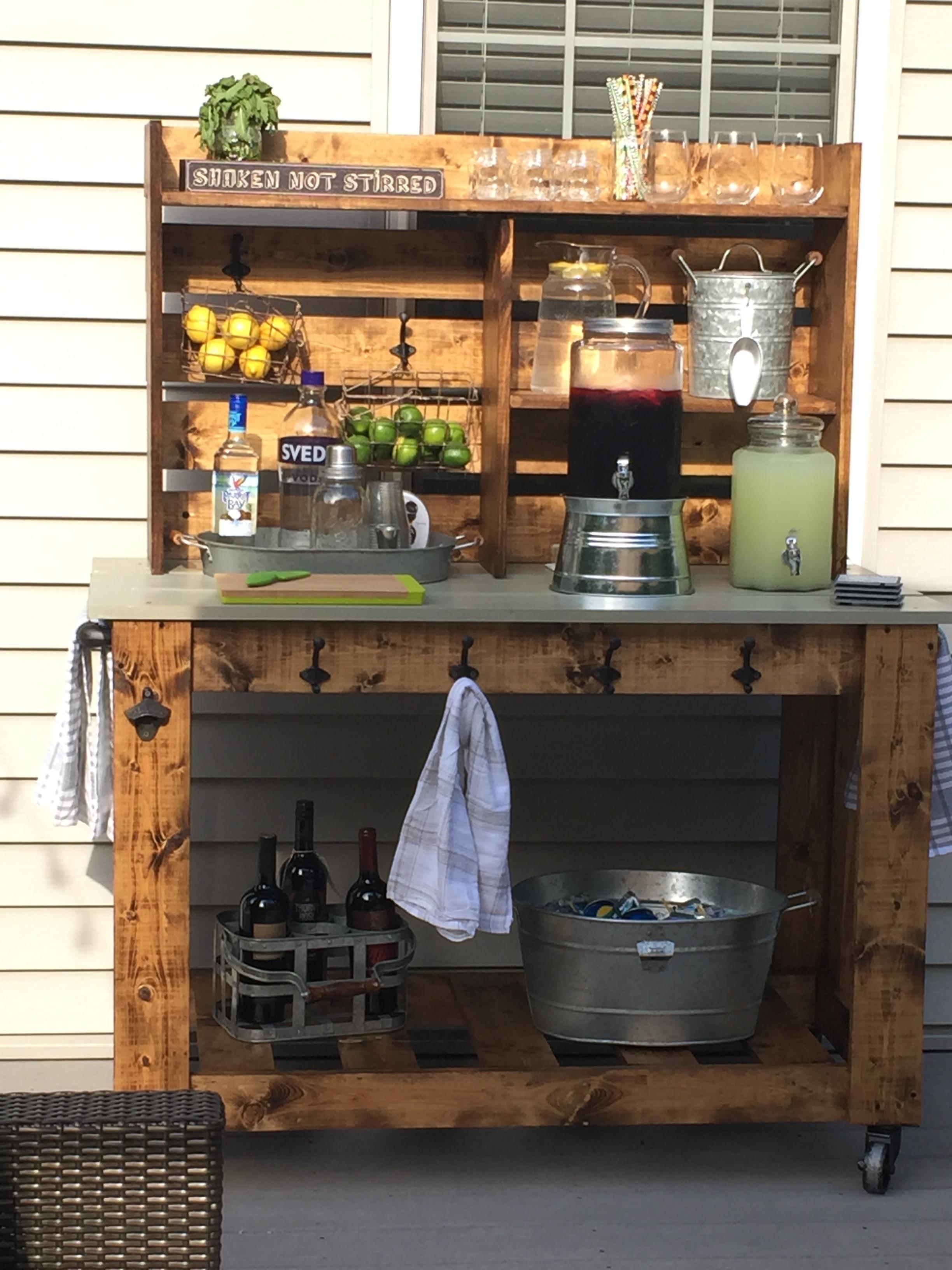 "My DIY ""Poverty Barn"" Cart"