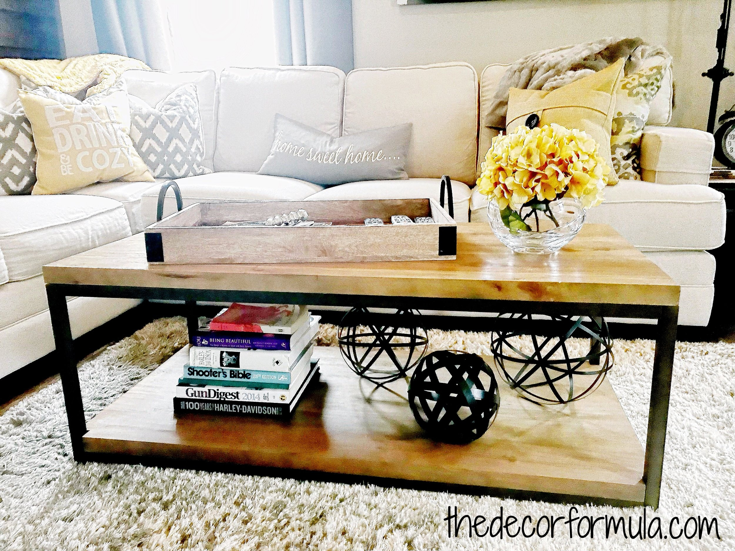 How To Decorate A Coffee Table The Decor Formula