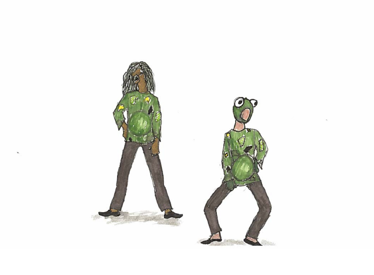 Renderings for creature costumes