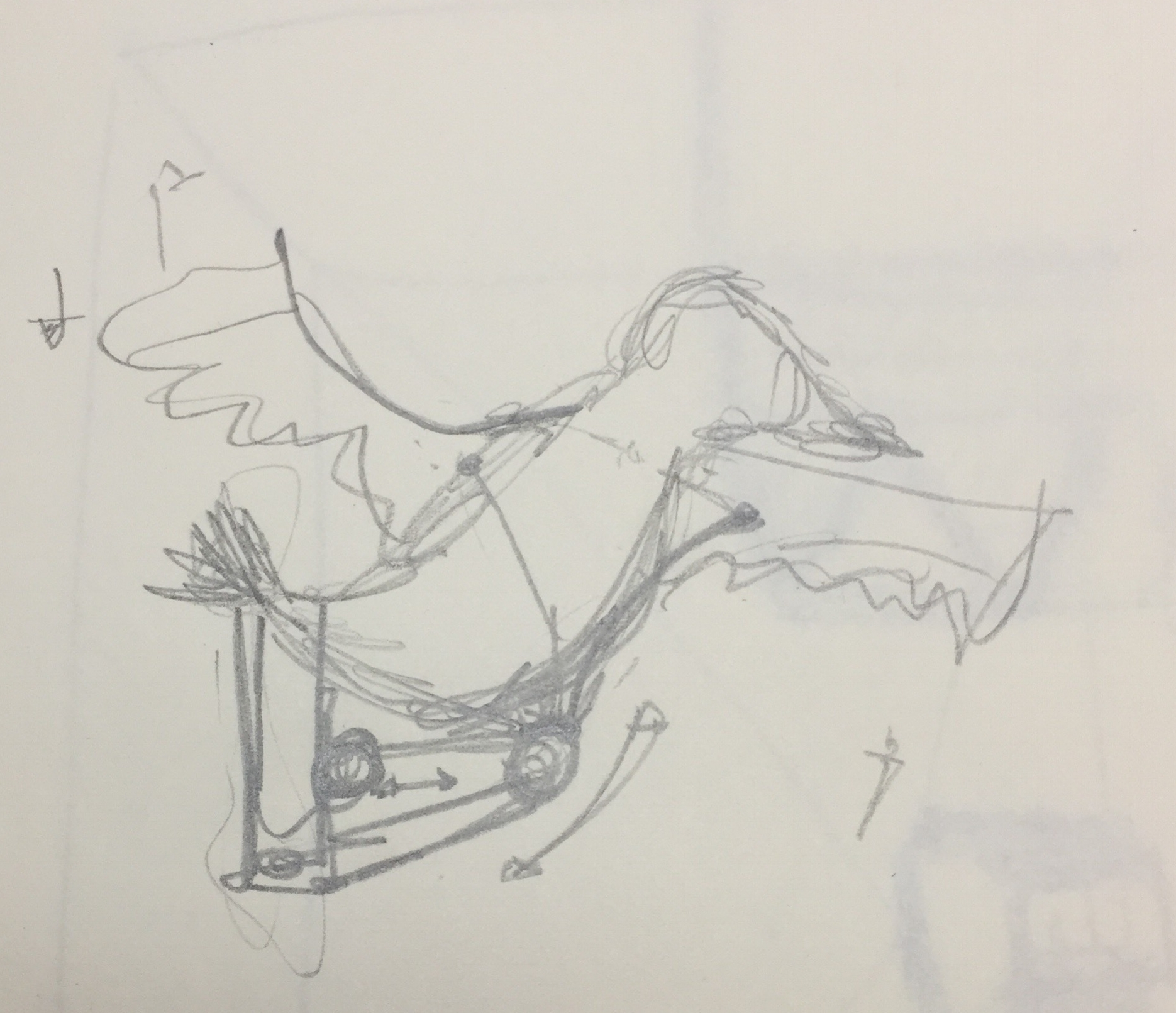 Preliminary sketch of Edgar