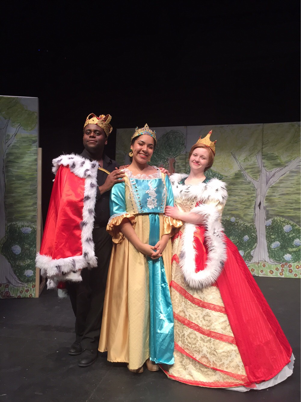 Princess Pricilla and her parents
