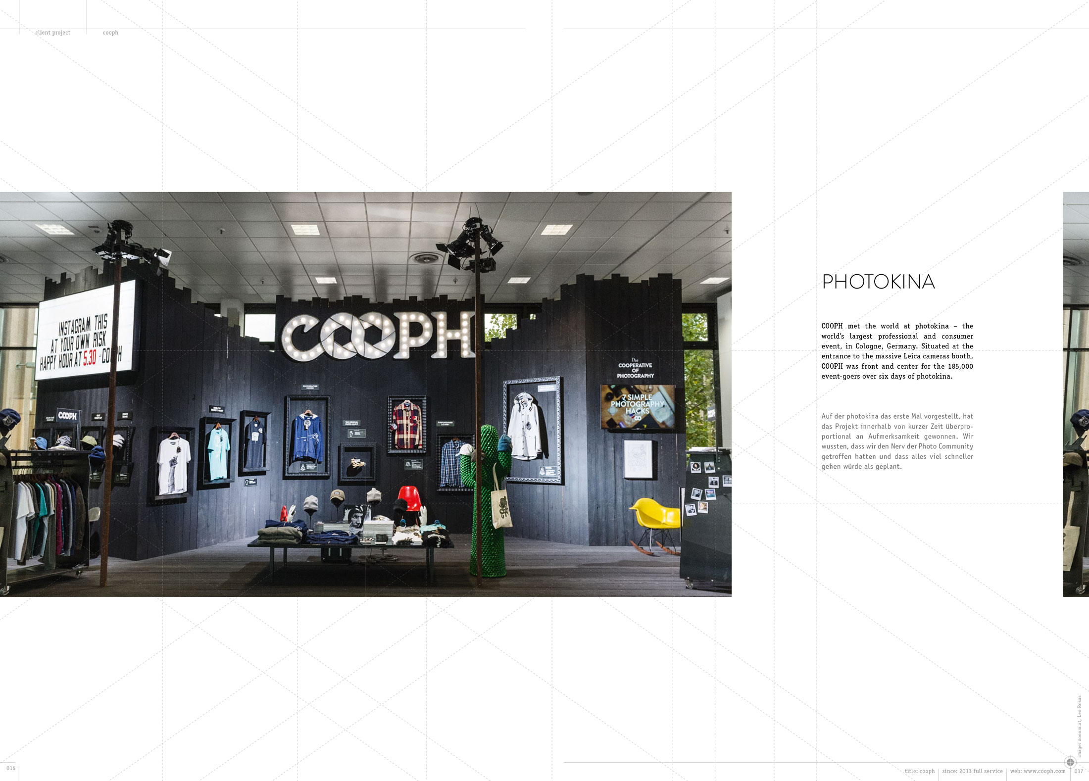 p.016 — Cooph booth at Photokina.