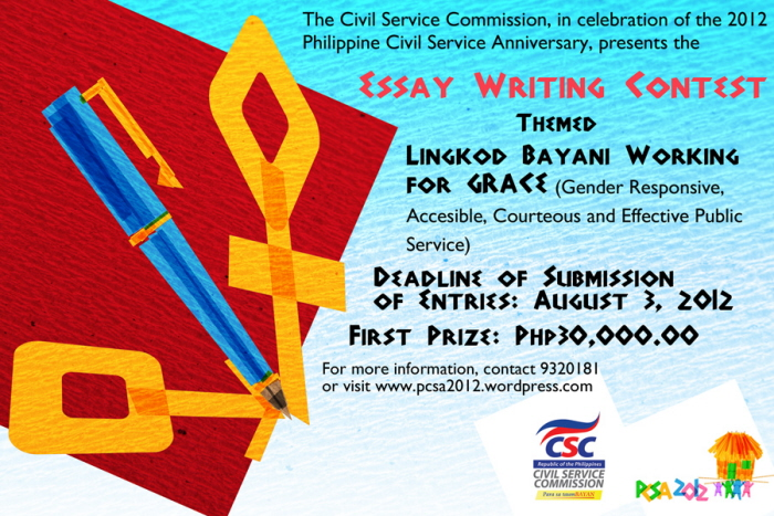 Copy of Writing Contest Flyer