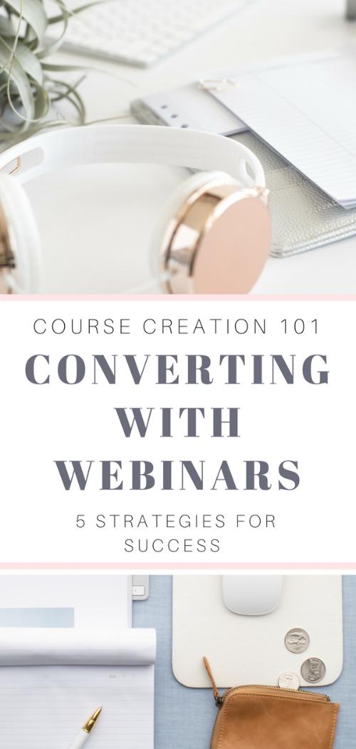 Converting with Webinars