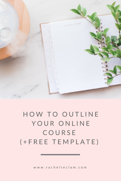 How to Outline Your Course