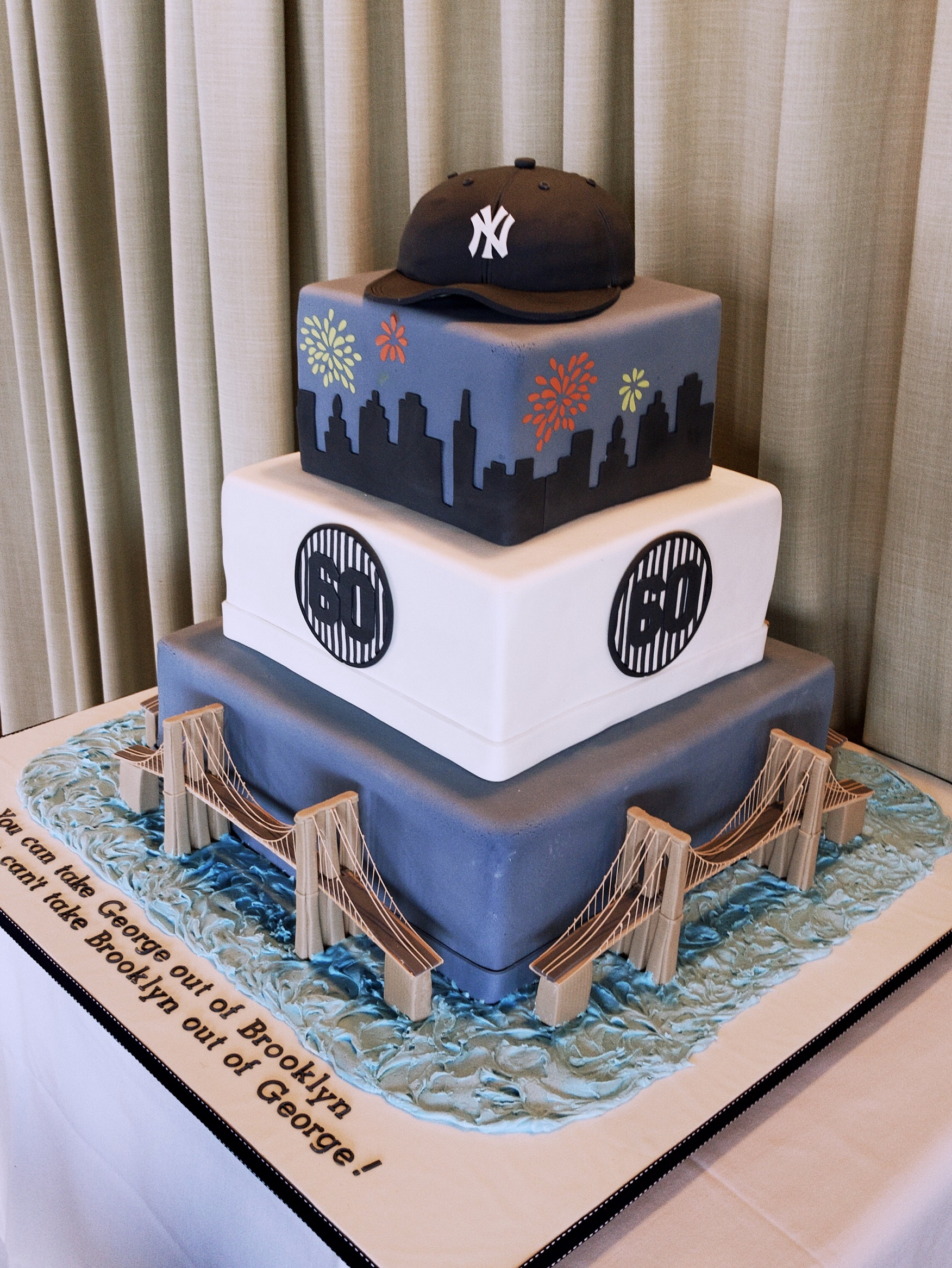 A Brooklyn boy's 60th birthday...with a nod to the Yankees