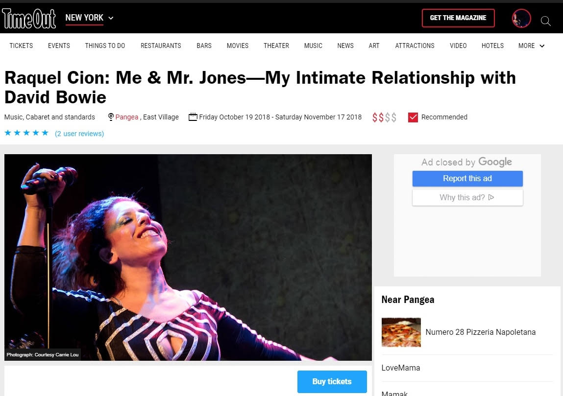 A Time Out New York Recommended Pick and ★★★★★ User Reviewed