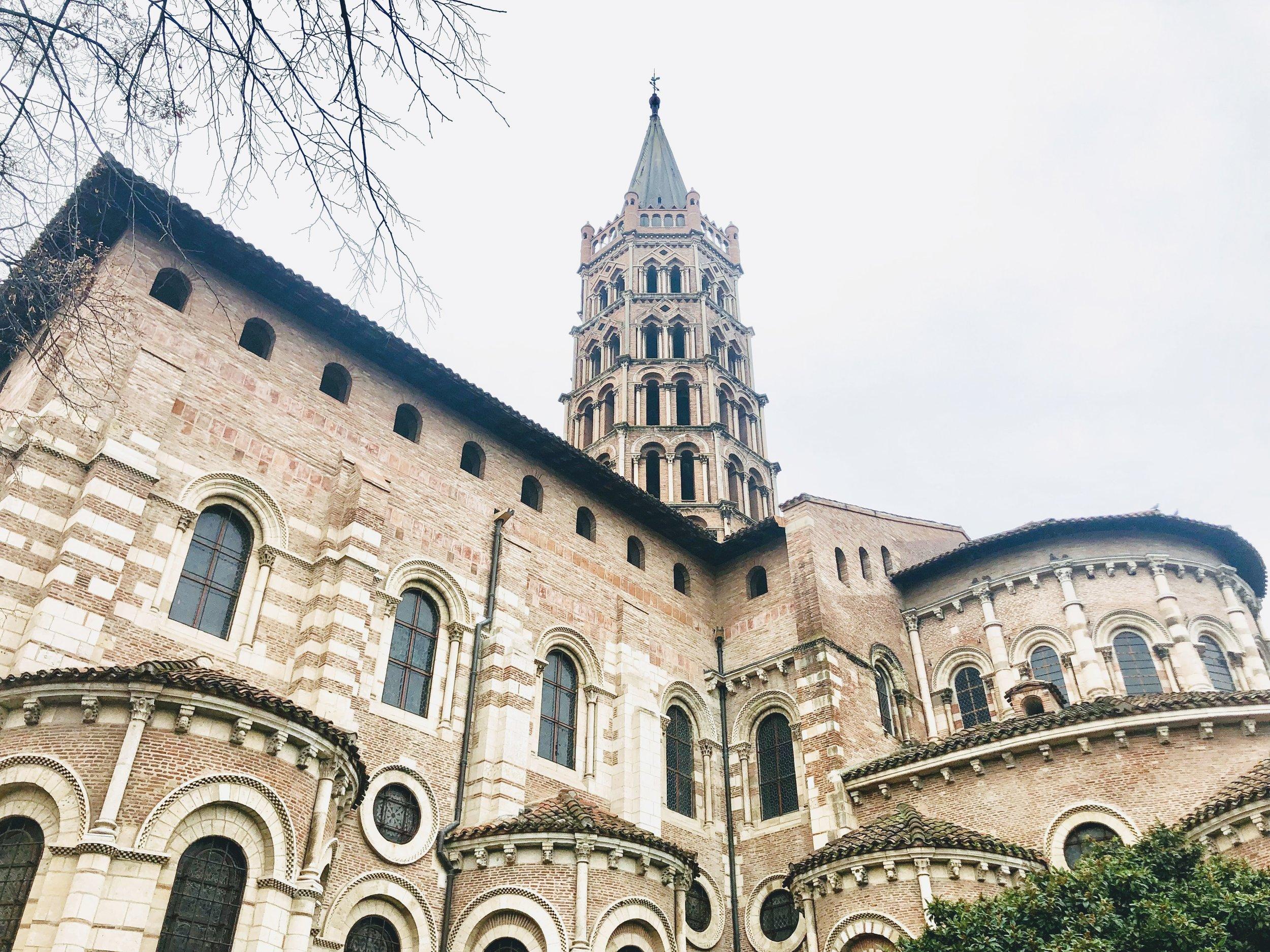 Basilica Saint-Serning. Copyright @Thisgiantworld