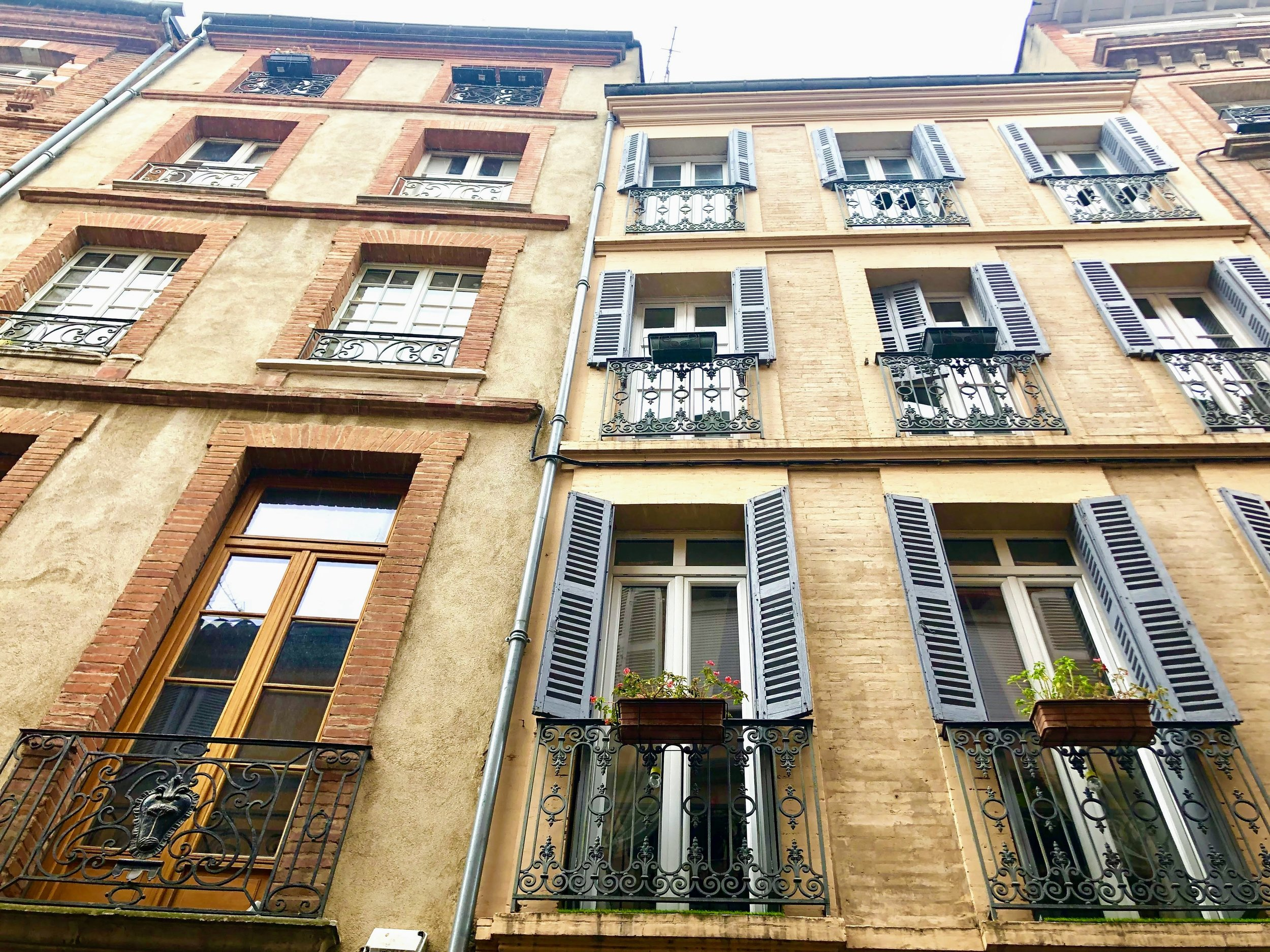 Street view in Toulouse. Copyright @Thisgiantworld