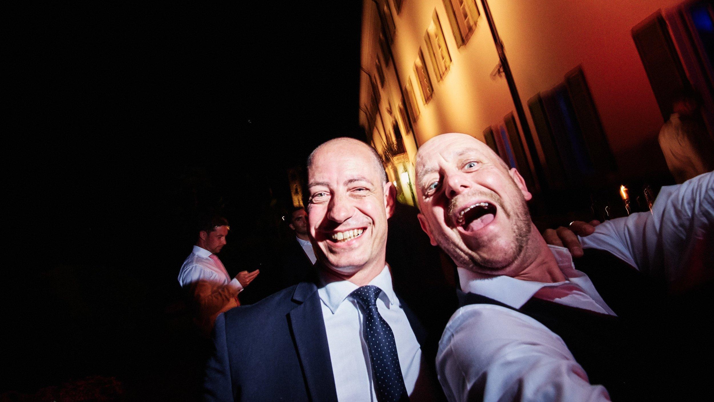 Yeah that's me. Cheeky selfie with villa owner, destination wedding