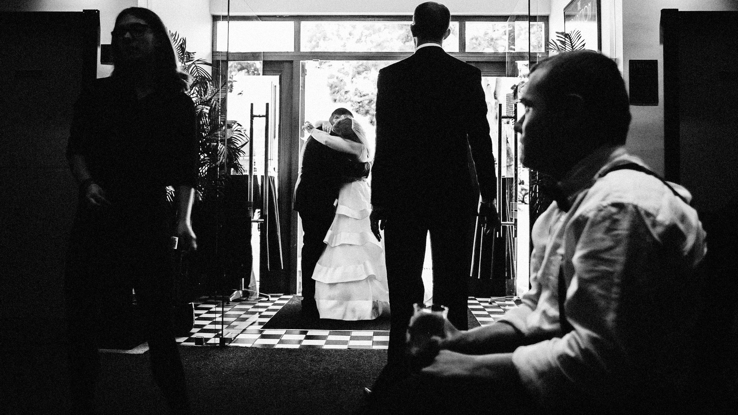 an essex wedding in a ballroom