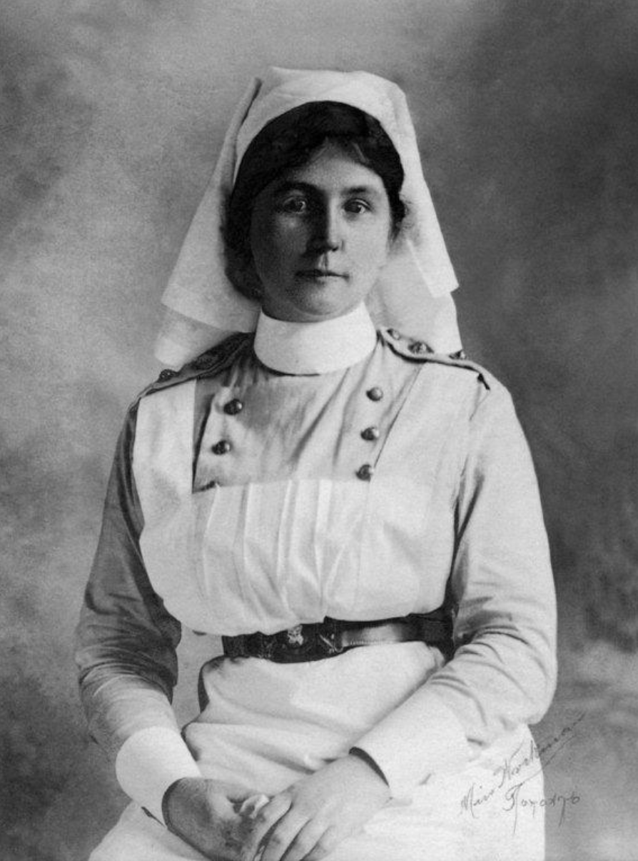 Bayfield's World War 1 Heroine,   Maud Stirling