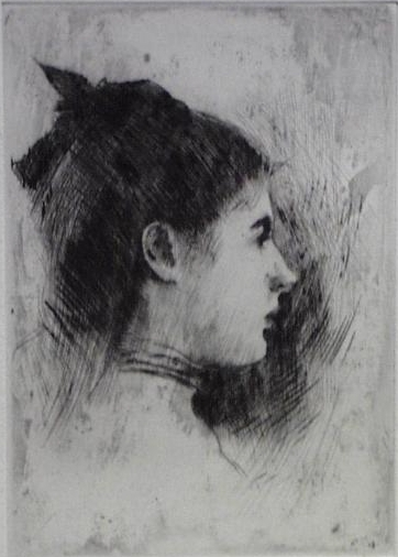 Young Woman in Profile_EC Tarbell.jpg