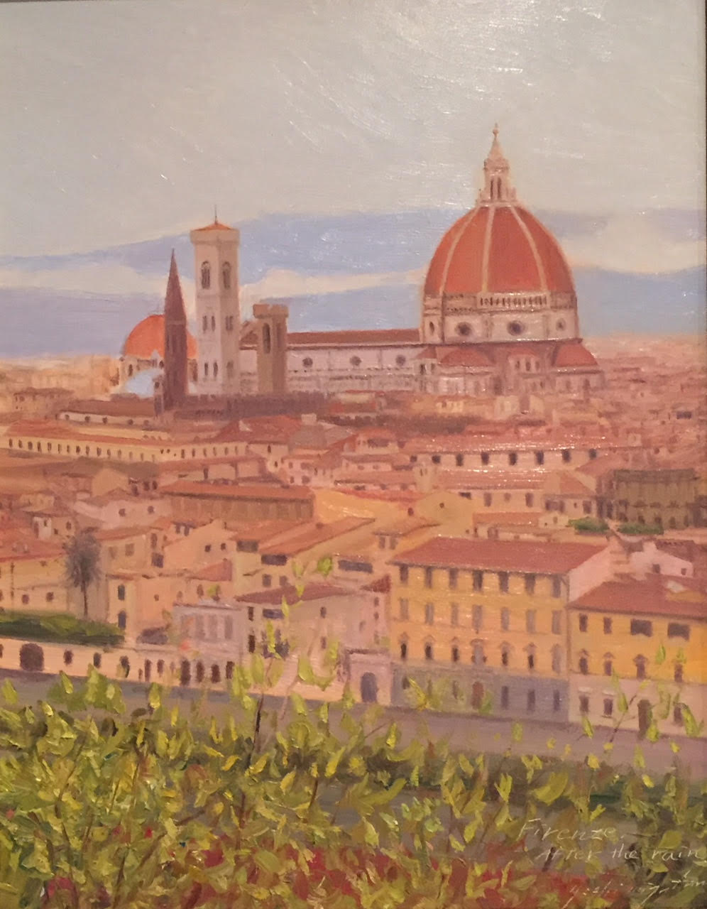 Doumo, After the Rain, Florence