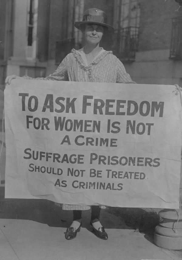 Source : Library of Congress, Manuscript Division, Records of the National Woman's Party