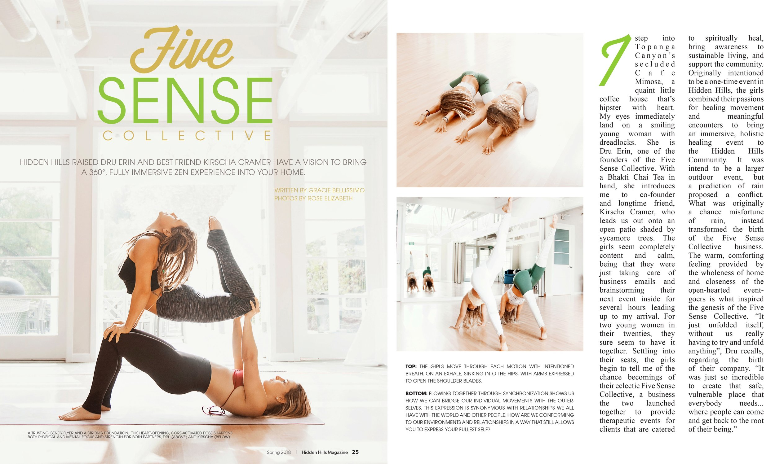 Hidden Hills Magazine Five Sense Collective page 1.jpeg