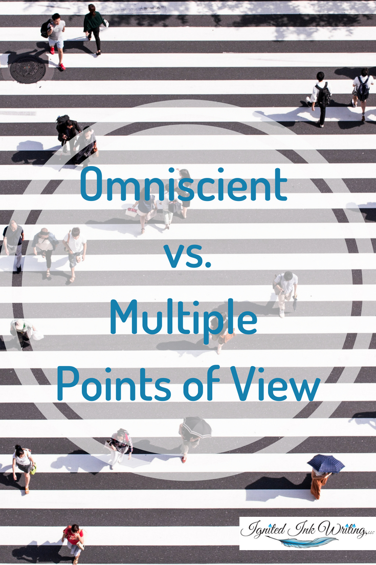 Sometimes you need to tell a story from more than one character's perspective, but you don't want to have the distance of omniscient. That's when multiple points of view can be the best choice for your story, but like all points of view, it has its pros and cons.  For a chart comparing the different points of view, go to  https://www.ignitedinkwriting.com/point-of-view-chart