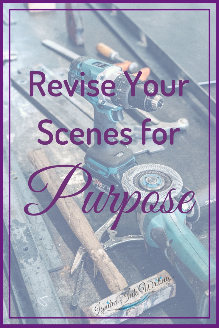 Scenes are the building blocks of your story. If a foundation scene is weak, the whole story collapses. Use these five revision steps to ensure they are strong and impactful. For a revision checklist, go to  https://www.ignitedinkwriting.com/revision-checklist