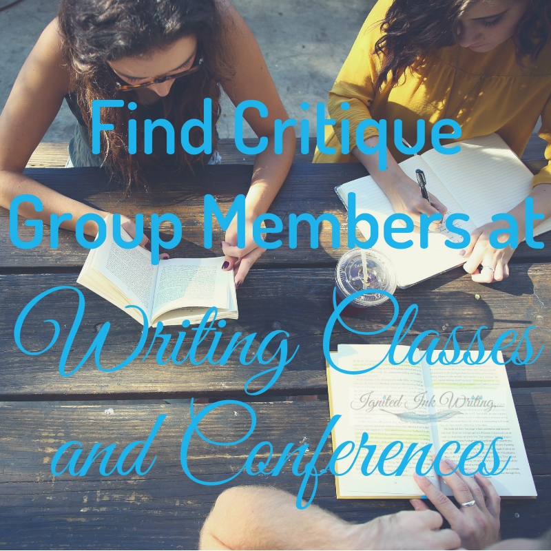 If you're looking for a critique group or new members, you not only need to know where to find writers, but also how to organize a critique group and what your responsibilities as the leader are. For a free revision checklist, go to  https://www.ignitedinkwriting.com/revision-checklist