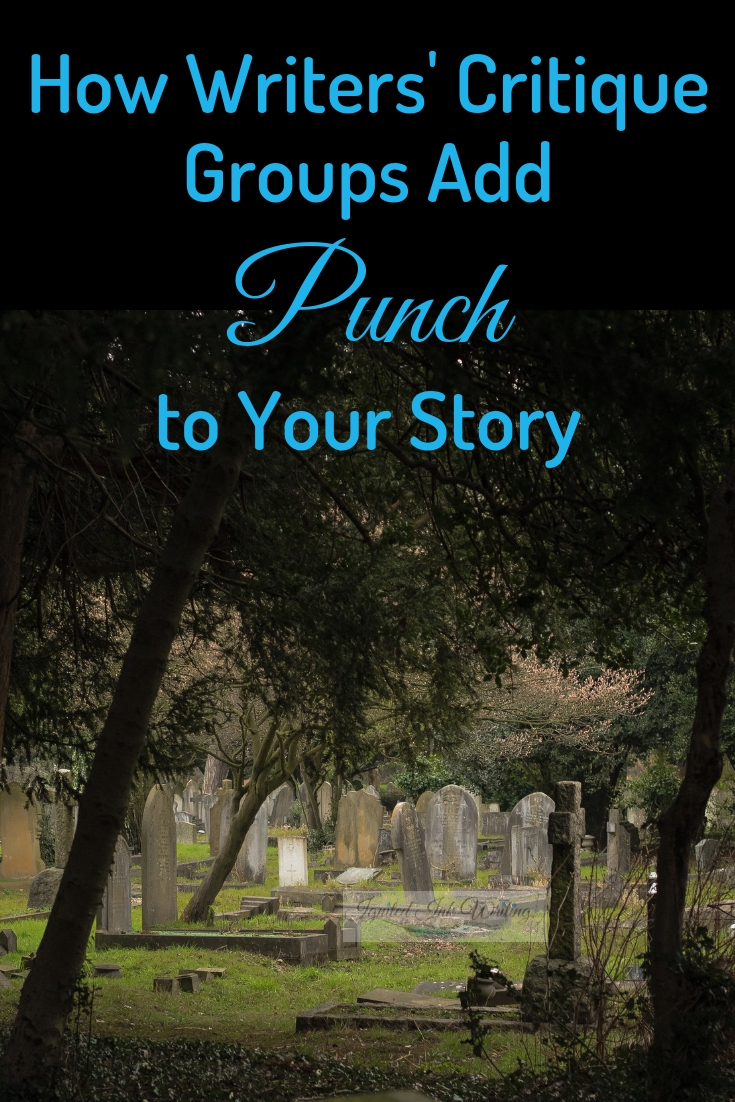 """To understand how a critique group can improve your writing, look at how 30th Street Fiction critique group impacted """"The Mortician's Assistant."""" I share before and after lines from my story, so you can see how critique impacted my piece and what it can do for your writing."""