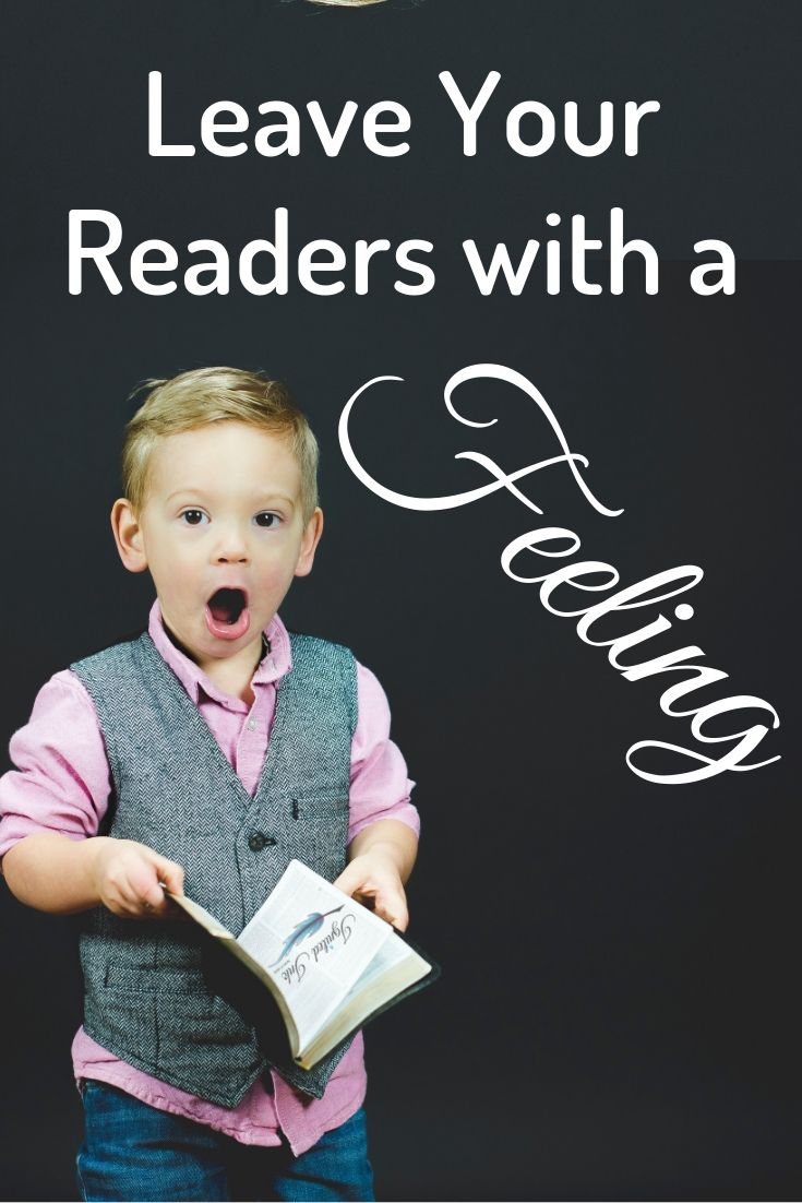 Your beginning may sell your first book, but it's your ending that sells subsequent books. A satisfactory ending leaves a reader with a strong emotion and answers the questions the author set up. A satisfactory ending is one that makes a reader want your other books.