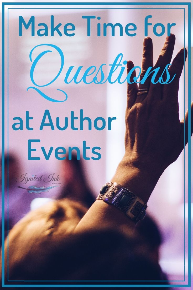 Author events don't have to be only about reading your work. Your readers are there to get to know you and your writing better. These gatherings are more fun for everyone when you create space for questions, conversations, sneak peeks, and other activities.