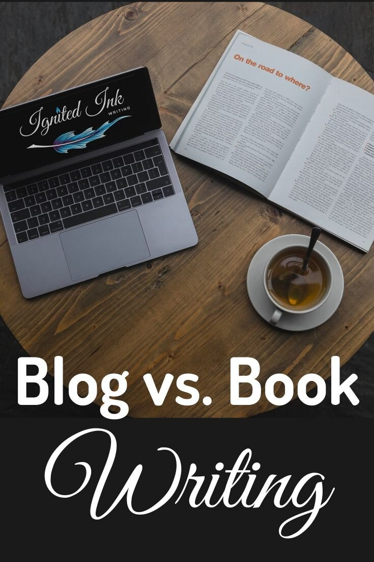 One reason to blog is it forces you to get your book ideas down on paper. However, not everything you blog will make it into your book, and not everything you include in your book should go on your blog. Learn the purpose and structure of nonfiction blogs and books, so you can transition smoothly from one to the other.