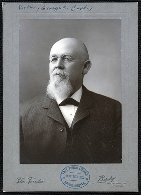 George O. Baker - When Captain Baker sold the land to the Dartmouth Library Association, the transfer was designed to prevent its sale for private use. The deed (which has since been amended) originally stipulated that if the site were no longer used as a library, Baker could buy it back for $200.