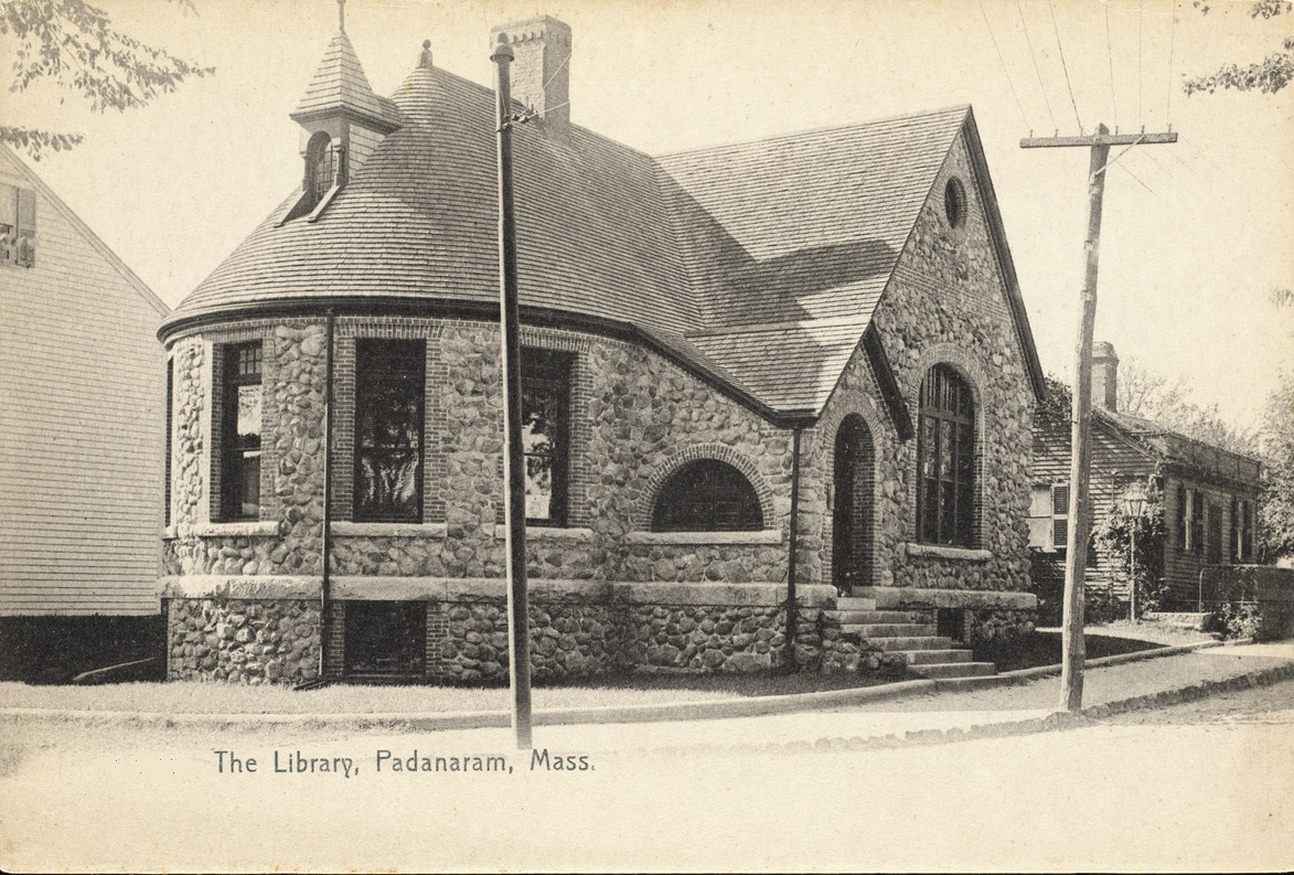 Old Southworth Library in the first half of the last century.