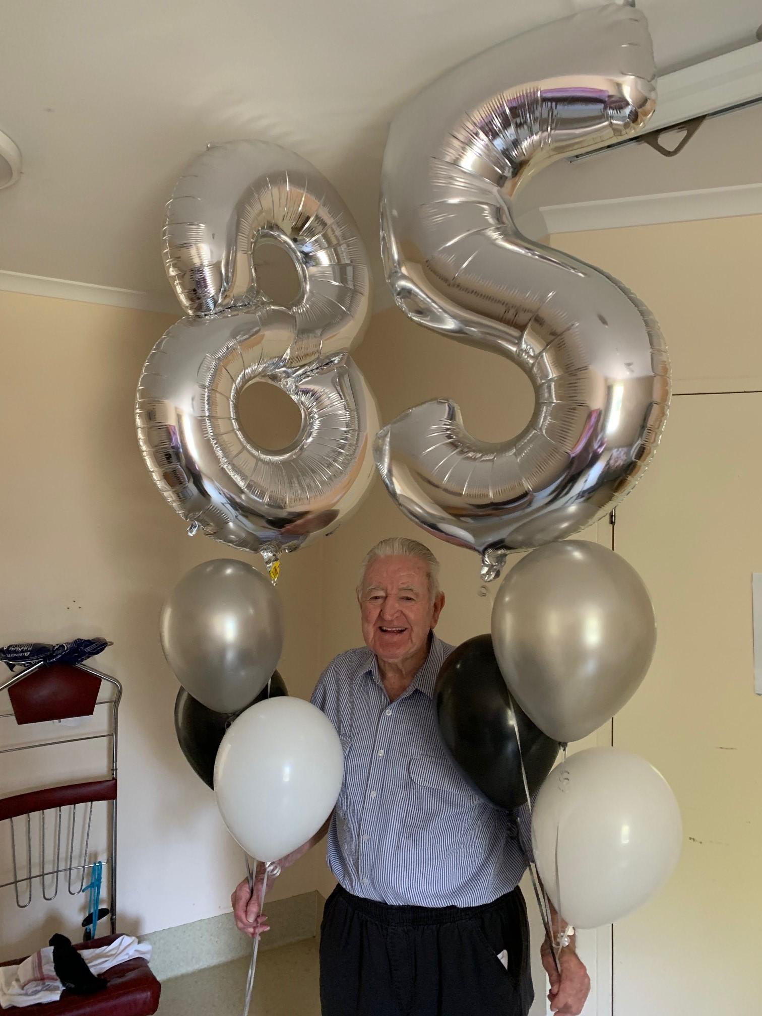 Ron Watkins 85 birthday. Sept 2019.jpg
