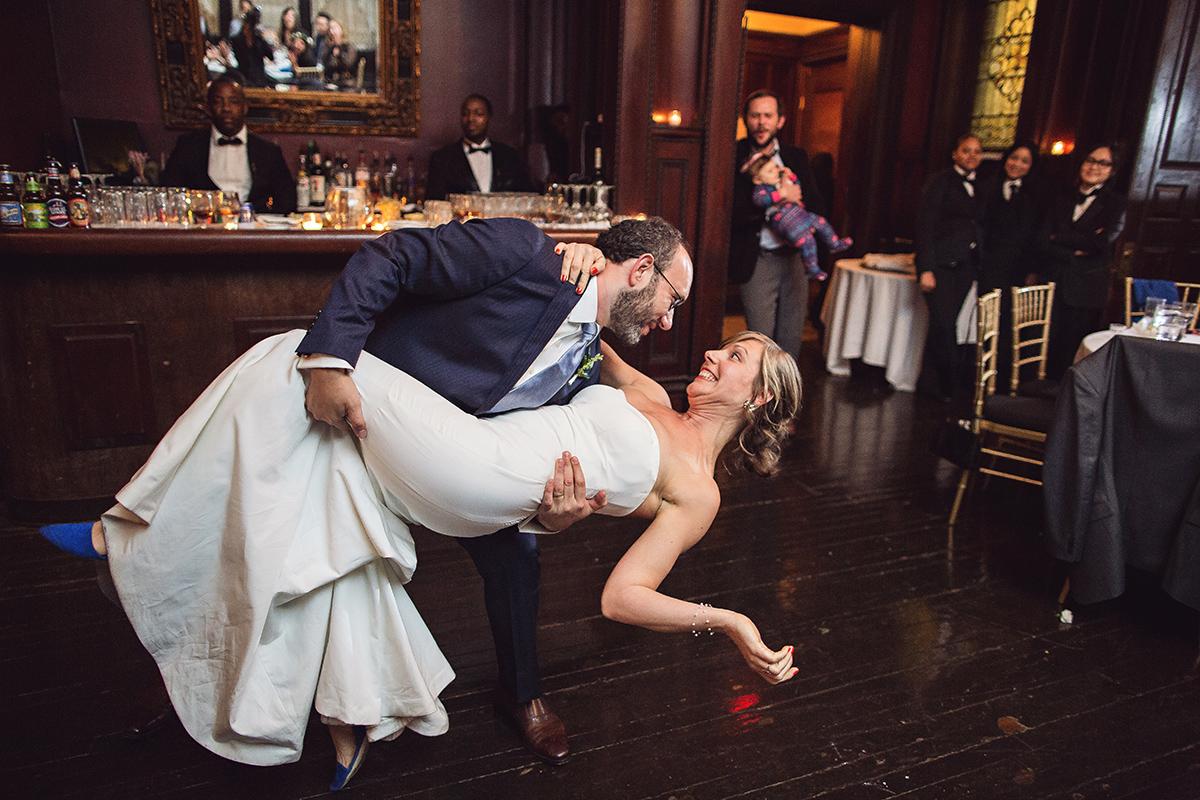 Ashley & Dan, Montauk Club Brooklyn