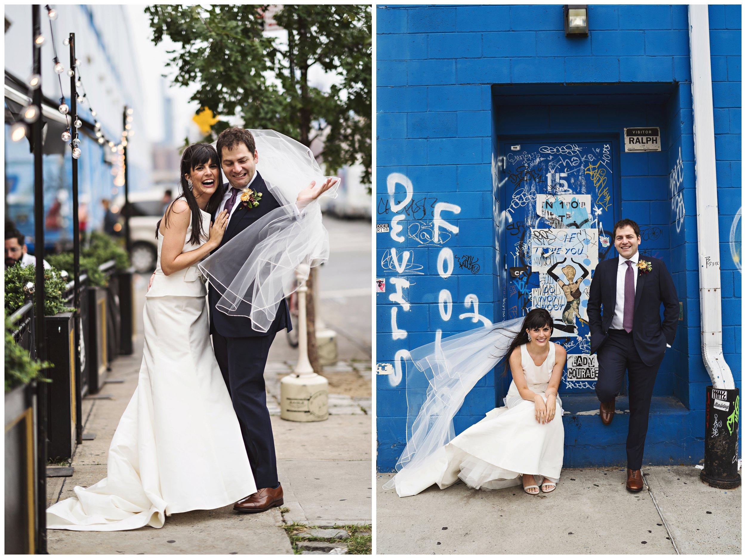 brooklyn winery wedding williamsburg portraits