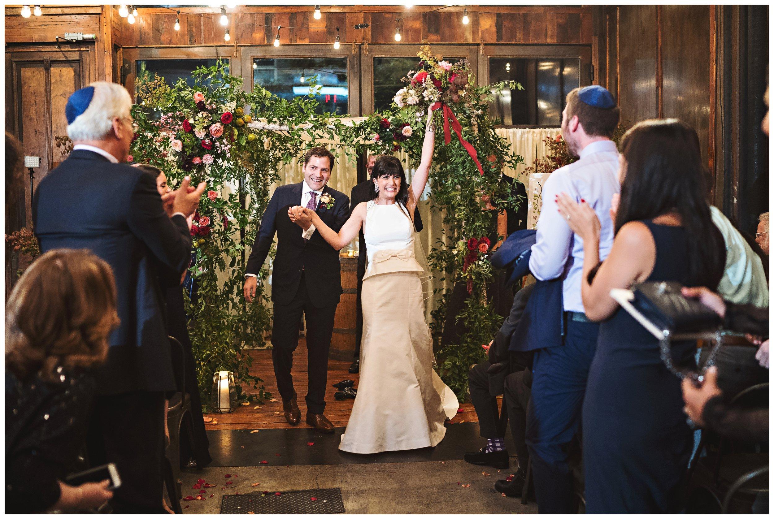 brooklyn winery wedding ceremony