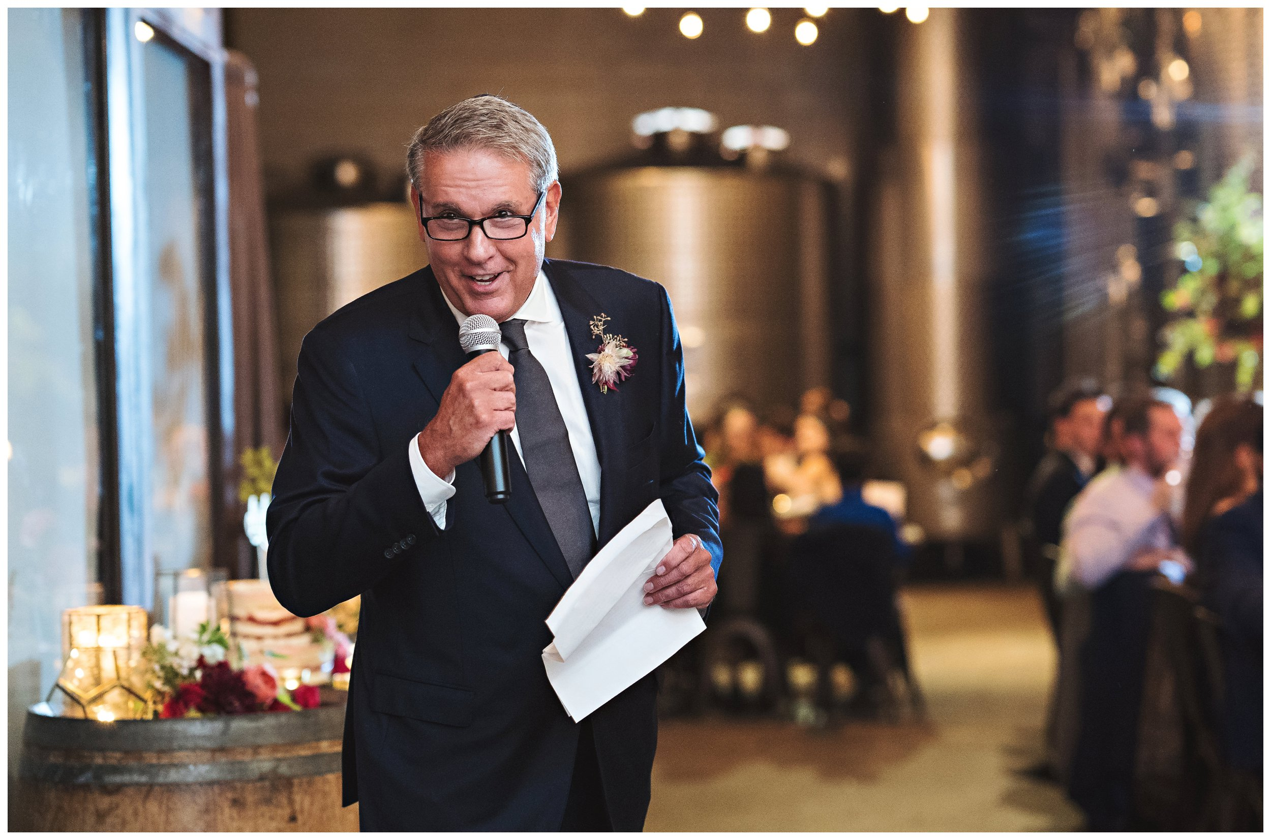 brooklyn winery wedding reception toast
