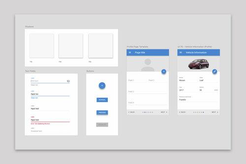 putting together a design system
