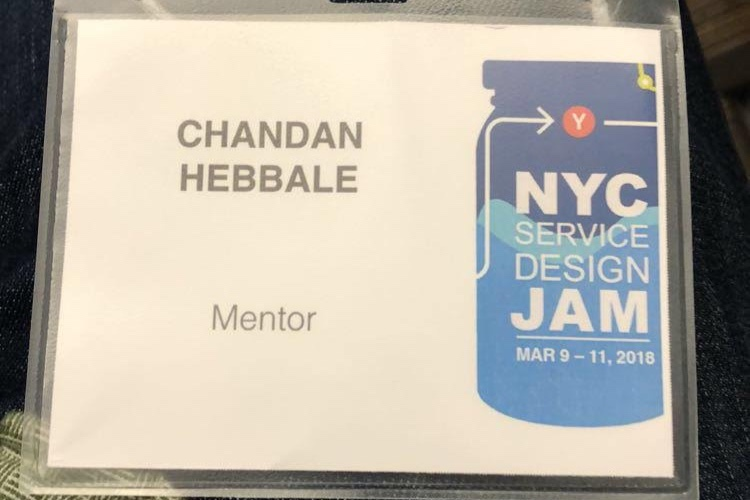 my service design mentor badge