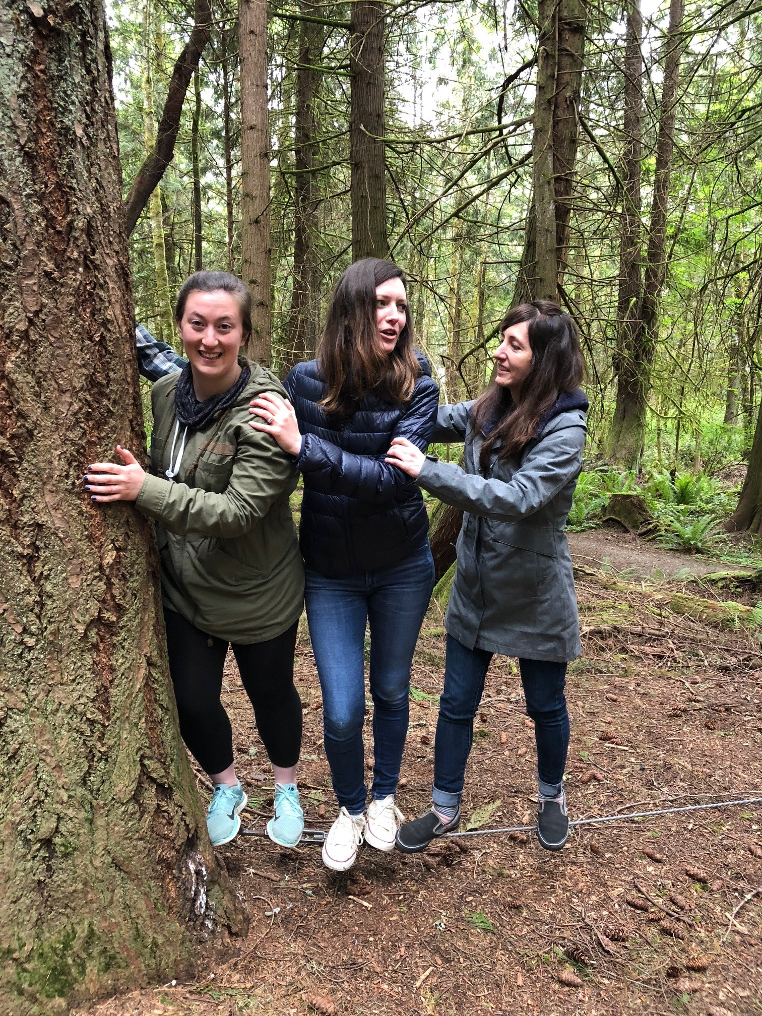 Debate at the low ropes course