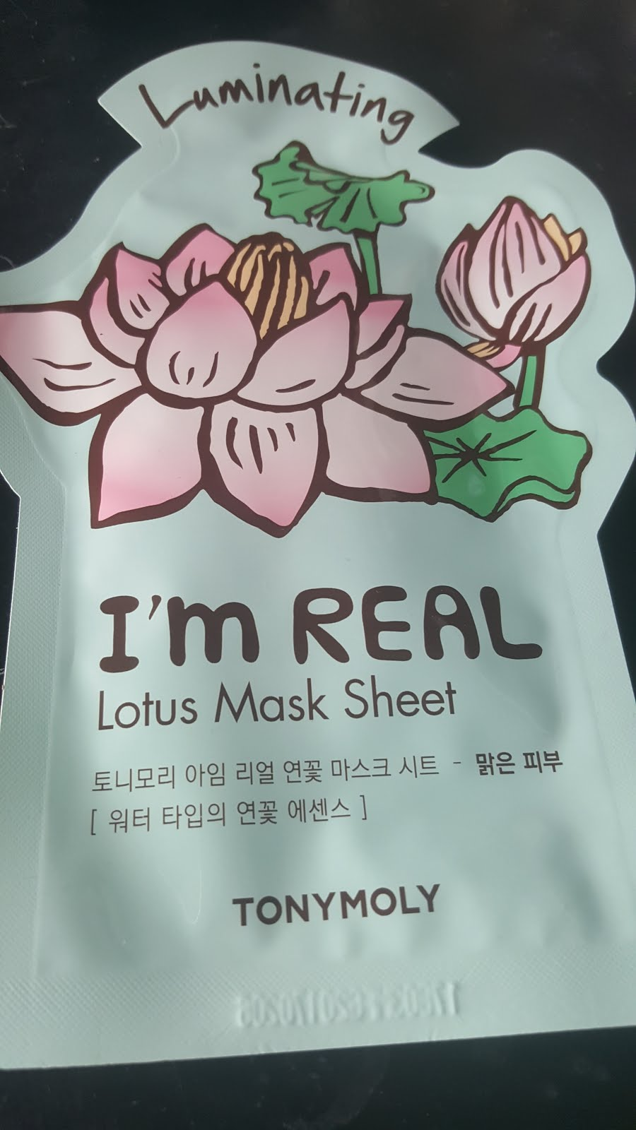 I'm Real Lotus Sheet Mask   - (set of 2 $6)